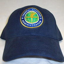 Cap with FAA Seal-Navy Brushed
