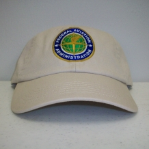 Cap with FAA Seal-Khaki Washed