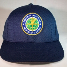 Mesh Cap with FAA Seal-Navy