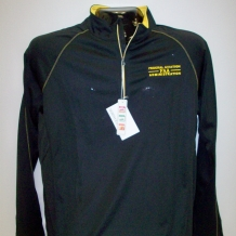 North End Pullover - Black & Gold