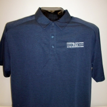 Digi Heather Perf Polo-Navy