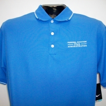 Nike DF Tipped Polo-Pacific Blue
