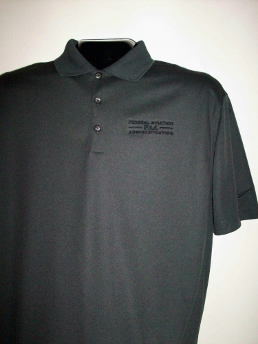 Nike Dri-Fit Pique Polo-Anthracite