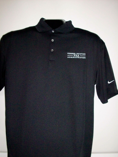 Nike Dri-Fit Pique Polo - Black