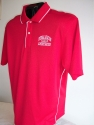 ST DriMesh Polo w/Tip-Red/White-side view