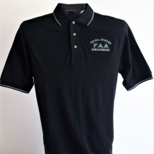 TM Trace Polo-Black/Grey