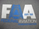 Hooded Sweat A Plane logo on Graphite