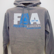 Hooded Sweatshirt A Plane-Graphite