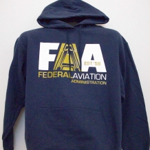 Hooded Sweat-Navy A Plane