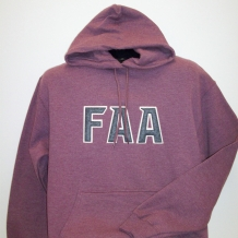 Hooded Sweat-TT-Htr Ath Maroon