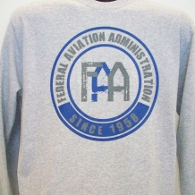 LS FAA Tee-Athletic Heather