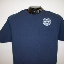 Pocket Tee-Navy