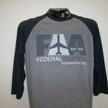 Raglan T-Gray/Black