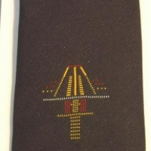 Runway Approach Tie Navy