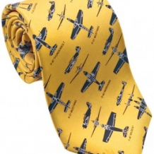 WWII Fighter Tie