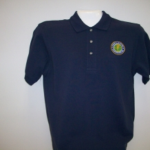 Ladies Pique Polo Navy