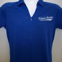 Ladies Digi Hthr Polo-Royal
