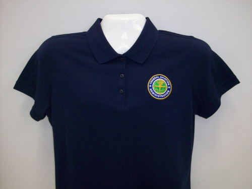 Ladies EZ Cotton Polo-Navy