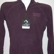 Ladies Fusion Fleece-Plum
