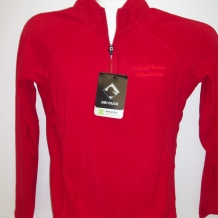 Ladies Fusion Pullover-Red