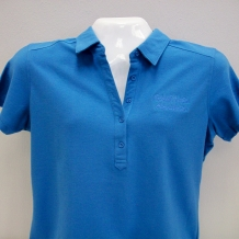 Ladies Modern SR Polo-Blue