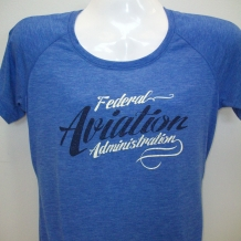 Ladies Performance Tee-Royal