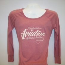 Ladies Tunic tee-Blush