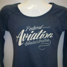 Ladies Tunic Tee-Navy