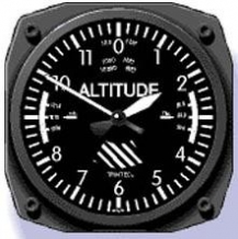Wall Clock Altimeter