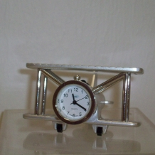Wright Bros Airplane Clock