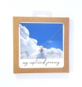 SS Airplane Necklace - Carded