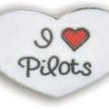 Pin Love Pilots