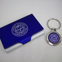 Keyring & Bus Card Holder Set