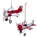 Ornaments-Tin Airplanes