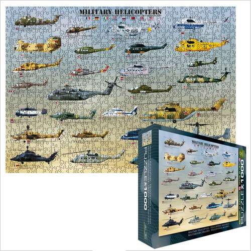 Puzzle-Military Helicopters