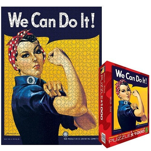 Puzzle-Rosie the Riveter