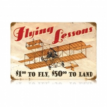 Sign Flying Lessons