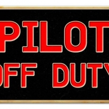 Sign-Pilot Off Duty