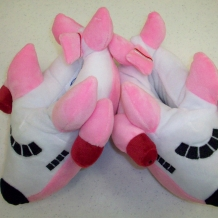 Airplane Slippers-Pink
