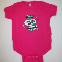Infant Onesie-Hot Pink