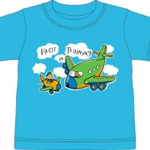 Kid's Tee-Pilot in Training