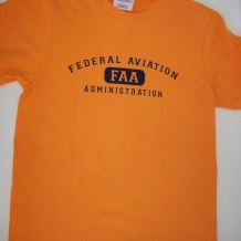 Youth Athletic Tee-Orange