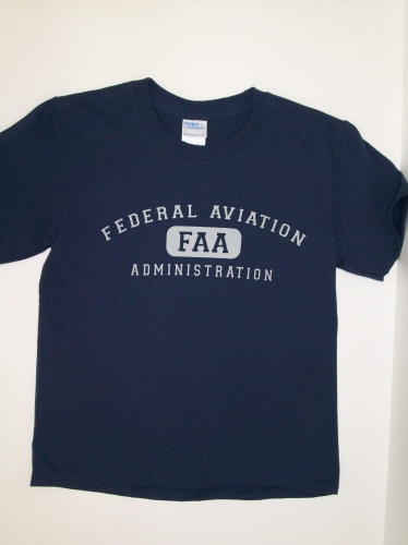 Youth Athletic Tee-Navy