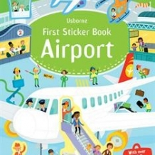 First Sticker Book-Airplanes