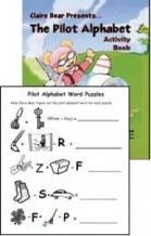 Claire Bear Alphabet Activity Book