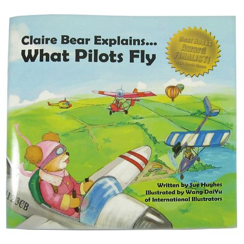 Claire Bear What Pilots Fly