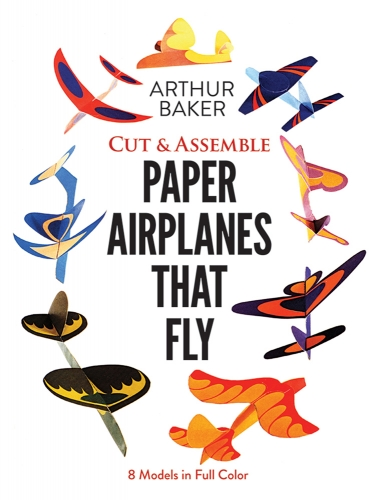 Cut & Assemble Paper Airplanes