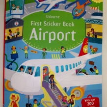 First Airport Sticker Book