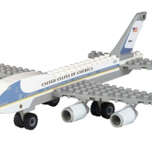 Air Force One Block Toy