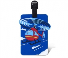 Luggage Tag-Helicopter